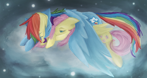 Sleepin on the clouds by Risketch