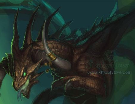 Dragon preview by The-SixthLeafClover