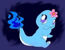 Charmander blue female by TrOpius-PassiOn
