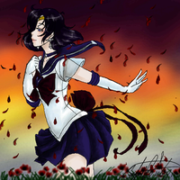 FanArt : Sailor Saturn by EternalGraveDancer