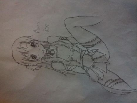Swords Art Online Asuna by Anime3Lover12