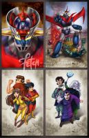 Mazinger Z_cards COVER by FranciscoETCHART