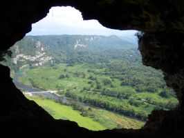 Cavern View in Puerto Rico by lixa111