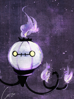 Chandelure by carcarchu