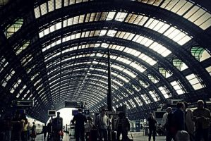 Milano Centrale railway station by The--Dark--Knight
