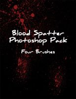 Blood Spray Brush Pack by Zeds-Stock