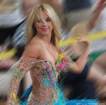 DWTS Costumes 01 Chelsie Hightower by greenjinjo