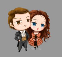 Christine and Raoul by poperart