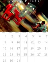 January 2006 Calendar by indians