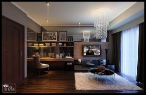 Interior Living room apartment by arclabelle