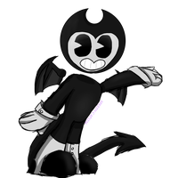 Bendy the dancin devil [Bendy and the ink machine] by SpeedyCat1234