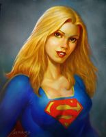 Supergirl by PaulAbrams