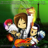 ADVERT - KOF MAX KYO 2 by manic-the-lad