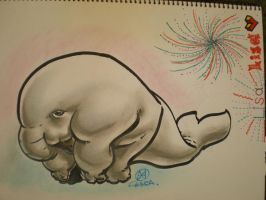 Whalephant by theCHAMBA