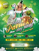 St Patrick's Day Flyer Template by LouisTwelve-Design