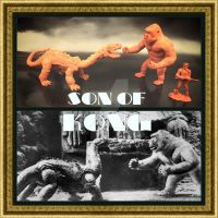 Sculptures from Son of Kong film by luismhernandez