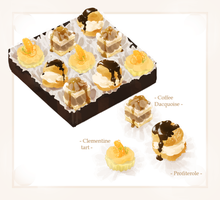 mage:: petits fours by Rubisu