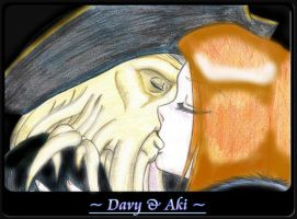 Aki and Davy.. by Sakura-Jones