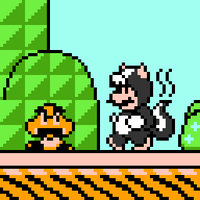 Skunk Mario by UnManuel