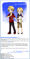 North America Brothers Skin by Firestixian