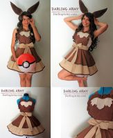 Eevee Pokemon Gijinka Cosplay Pinafore by DarlingArmy