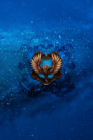 Ravenclaw iPhone 4/4s Lockscreen Wallpaper by briely