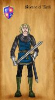 Brienne of Tarth by serclegane