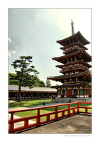 Temple in Nara Vll by rikachu426