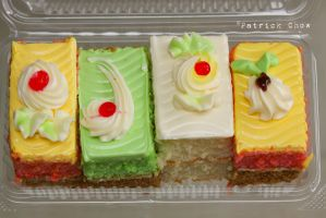 Colourful cakes by patchow