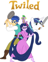 TWILED: MY LITTLE TANGLED (UPDATED) by SteGhost