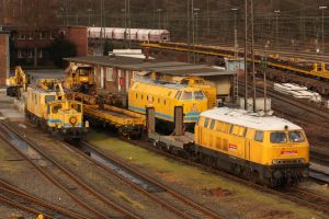 A sunday in Duisburg- Entenfang by Budeltier
