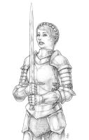 Lady Knight 2013 by Spacegryphon