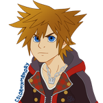 Sora (KH III Bust) by ColorMyMemory