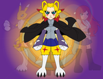 Fusion - Lightning Kitsune by Dragon-FangX