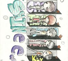 SHINee by monster-kay-t