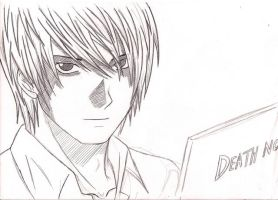 KIRA Death note by Ali-hegazi