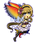 Parrot Fairy adoptable CLOSED by Aikolein