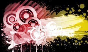 Mixed Collage Brushes by StarwaltDesign