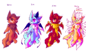 Adoptables -SOLD- by Lightnymfa