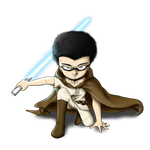 Adam-jedi commission by AJaxx15