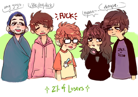 losers minus 98% of losers by bannaray4