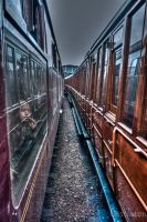 Between the tracks by PaulCastleton