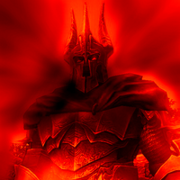 Overlord on Fire by DragoSz