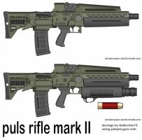pulse rifle mark II by timberfox15