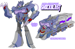 Decepticon Shockblast B by Tyrranux