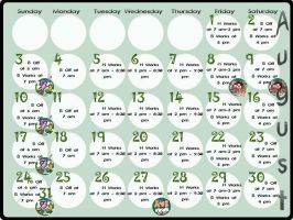 August Calender by Pixelated-Beauty