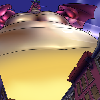 Jake Long the gigantic american dragon by RickyDemont