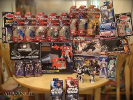 Toy Haul - Sept and Oct 2011 by aliasangel2005