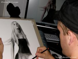 Drawing Avril Lavigne s3 by Per-Svanstrom