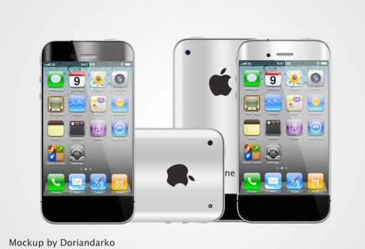 iPhone 5 best mockup ever by DorianDarko
